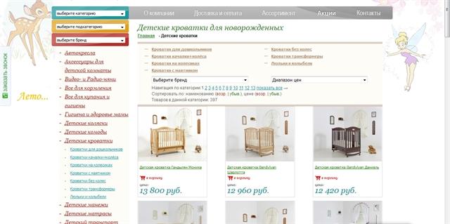 efde0f65685d Продается действующий, приносящий ежемесячную прибыль, интернет-магазин  детских товаров. Сайту более 6 лет, активно продвигался (СЕО, контекстная  реклама, ...