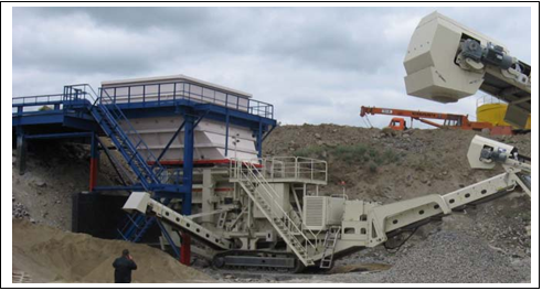 Шепетовский гранитный карьер ищет инвестора для для строительства второго завода по выпуску гранитного щебня