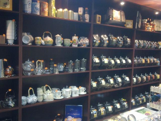 Магазин элитного кофе и чая