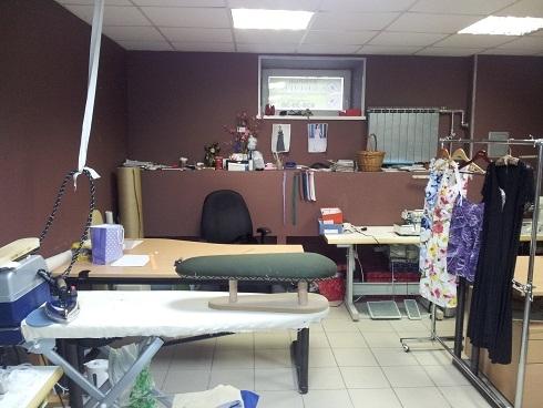 Мебель для ателье по пошиву одежды