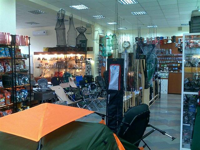 рыболовные склады магазины в москве