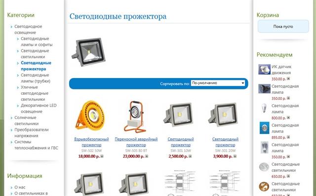 Механизм работы интернет магазина
