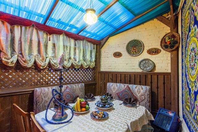 выполняем дизайн узбекское кафе в москве беременность