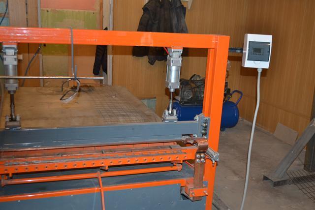 Станок для изготовления кладочной сетки