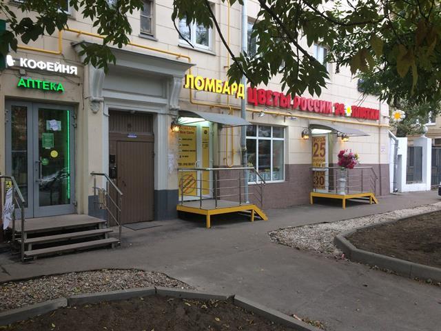 aa959a4d2458 Продается готовый бизнес (начало работы апрель 2017) - ломбард 10м2,  Абельмановская ул., д.1, первая линия домов (отдельный вход с