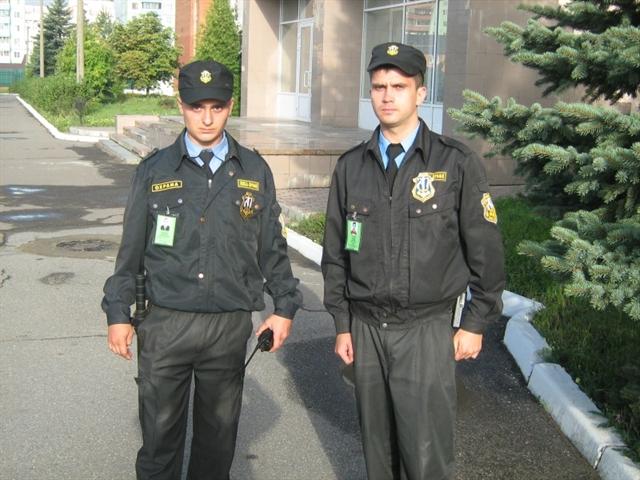 Форма одежды охранника чоп